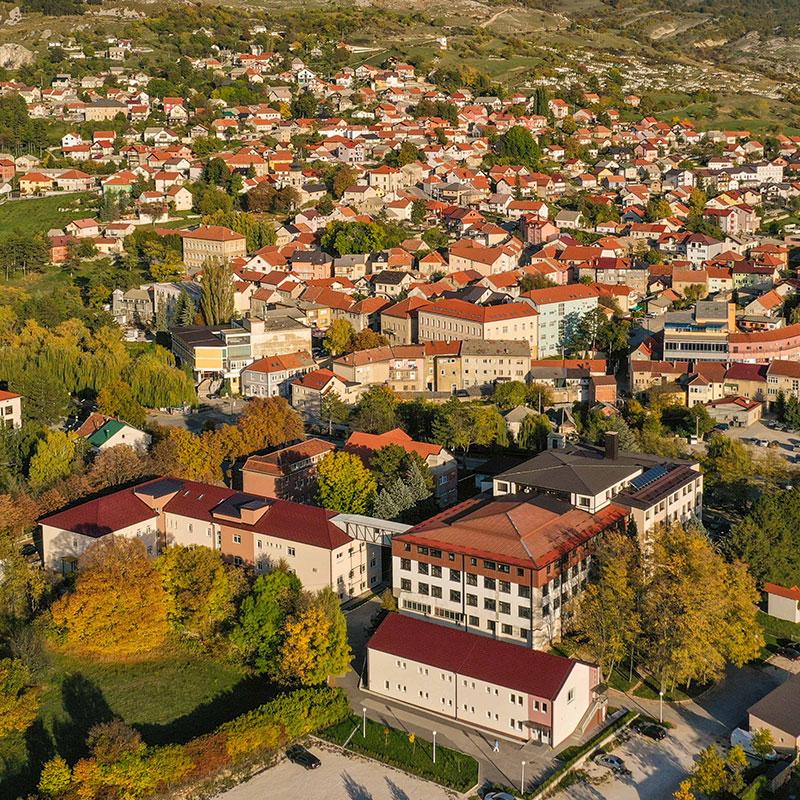Bolnica Livno - drone